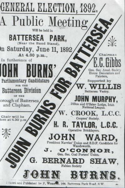 Burns Poster 1892