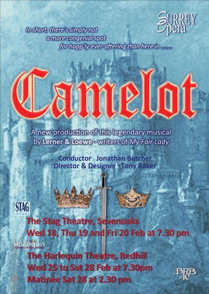 Camelot flier - front