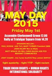 May Day 1 May