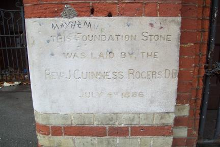 Wheatsheaf Guiness Rogers Stone 1896