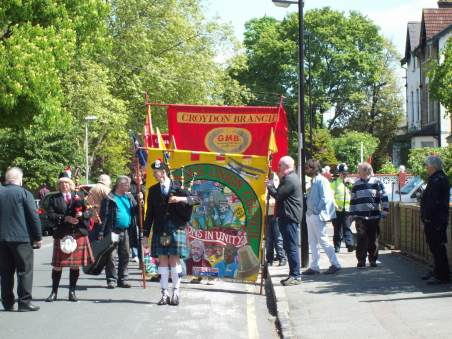 Croydon May Day March - 1