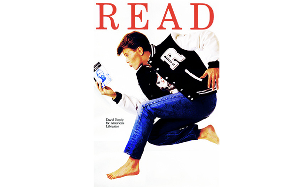 Bowie says read!