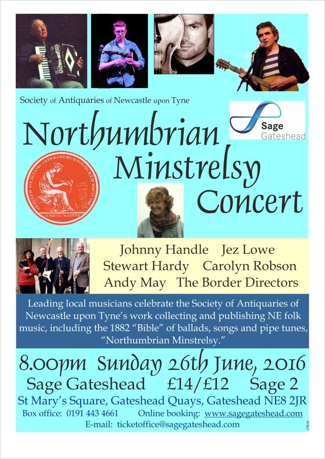 Minstrelsy Conc 26 June 2016 poster A