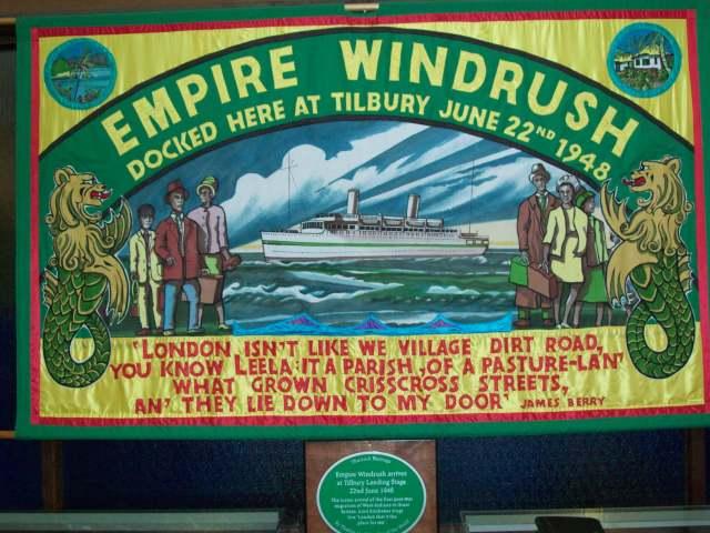 Windrush at Tilbury