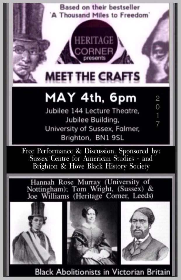 Meet the Crafts May 4 Brighton