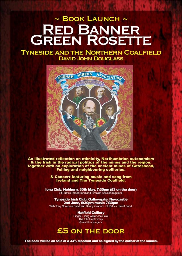 Red Banner Green Rosette
