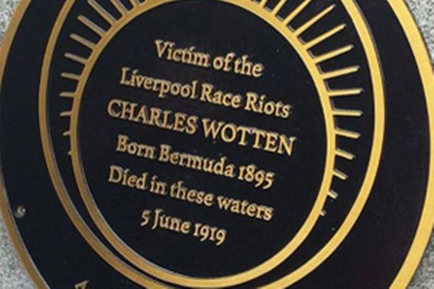 Liverpol 1019 plaque