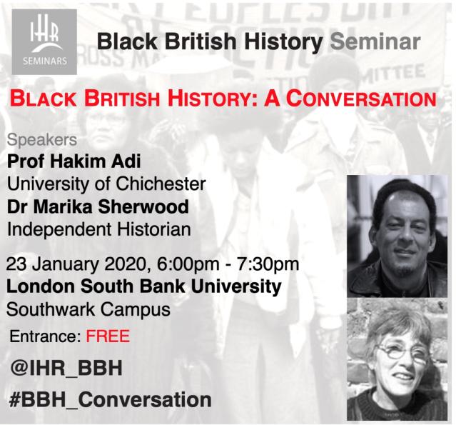 bLack HISTORY 23 jANUARY
