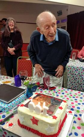 Eric and cake