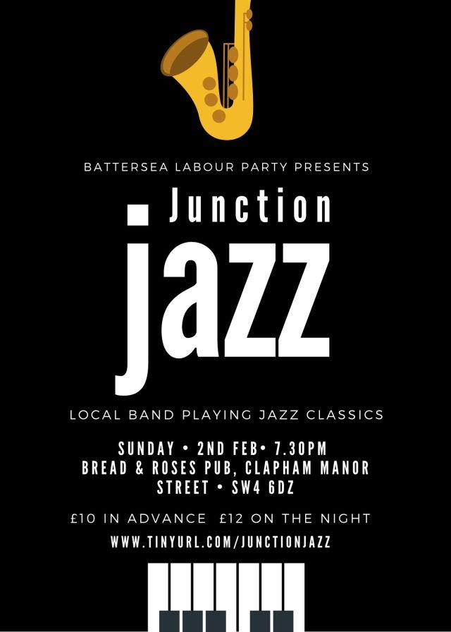 junction jazz poster